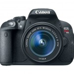 All new Canon Rebel T5i