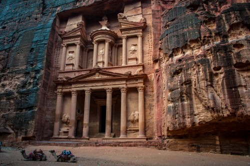 Your first view of Petra's famed Treasury