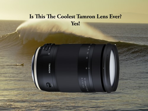Tamron's engineers changed lenses forever.